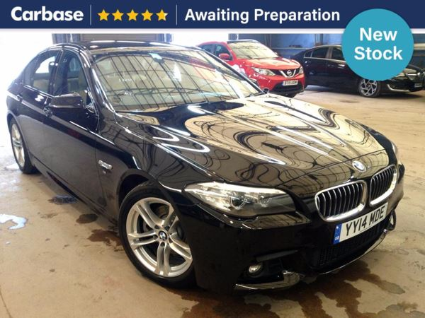 (2014) BMW 5 Series 520d M Sport 4dr Step Auto £2430 Of Extras - Satellite Navigation - Luxurious Leather - Bluetooth Connection
