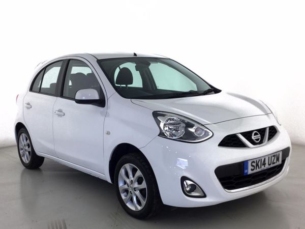 (2014) Nissan Micra 1.2 Acenta 5dr Bluetooth Connection - £30 Tax - USB Connection - Rain Sensor - Cruise Control