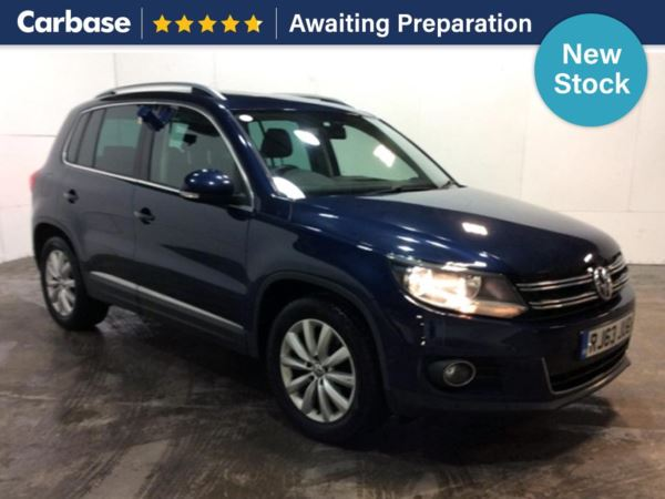 (2014) Volkswagen Tiguan 2.0 TDi BlueMotion Tech Match 5dr [2WD] - SUV 5 Seats Panoramic Roof - Satellite Navigation - Bluetooth Connection - Parking Sensors