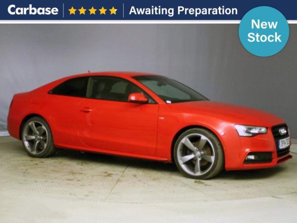 (2014) Audi A5 2.0 TDI 177 Black Edition 5dr Satellite Navigation - Luxurious Leather - Bluetooth Connection - £30 Tax - Parking Sensors