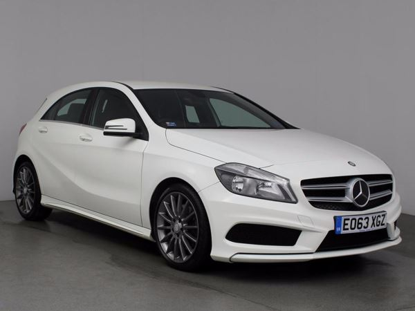 (2013) Mercedes-Benz A Class A220 CDI AMG Sport 5dr Auto Bluetooth Connection - £30 Tax - Aux MP3 Input - USB Connection - Rain Sensor