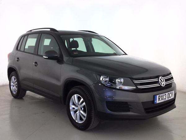 (2013) Volkswagen Tiguan 2.0 TDi BlueMotion Tech S 5dr [2WD] - SUV 5 SEATS £1015 Of Extras - DAB Radio - Aux MP3 Input - 6 Speed - Climate Control