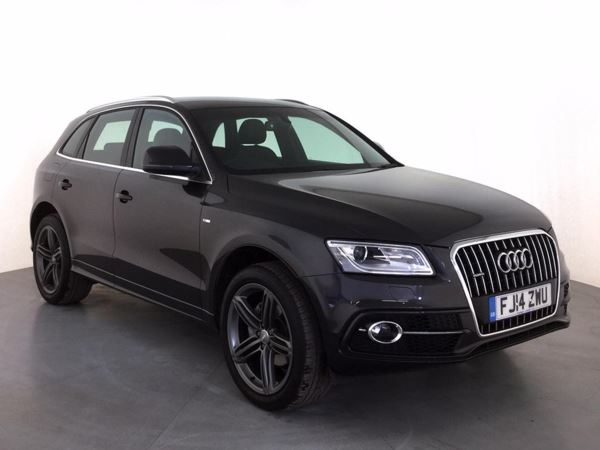 (2014) Audi Q5 2.0 TDI [150] Quattro S Line 5dr £2140 Of Extras - Bluetooth Connection - Parking Sensors - DAB Radio - Aux