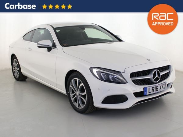 (2016) Mercedes-Benz C Class C220d Sport 2dr 9G Tronic 9 Speed Auto Satellite Navigation - Luxurious Leather - Bluetooth Connection - Parking Sensors