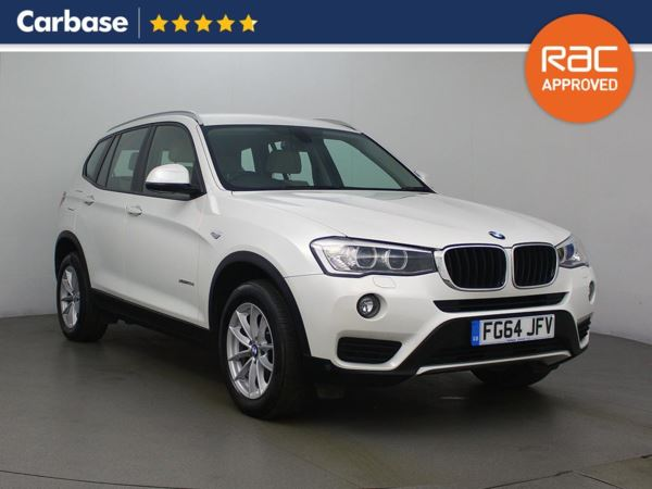 (2014) BMW X3 xDrive20d SE 5dr - SUV 5 Seats Satellite Navigation - Luxurious Leather - Bluetooth Connection - Parking Sensors