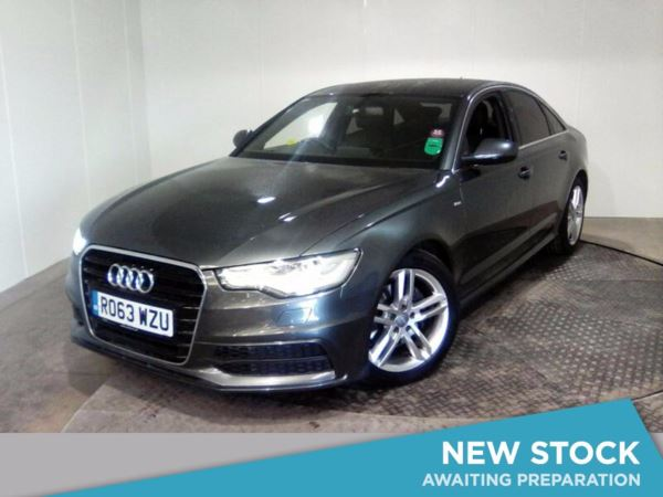 (2013) Audi A6 2.0 TDI S Line 4dr £955 Of Extras - Satellite Navigation - Bluetooth Connection - Parking Sensors