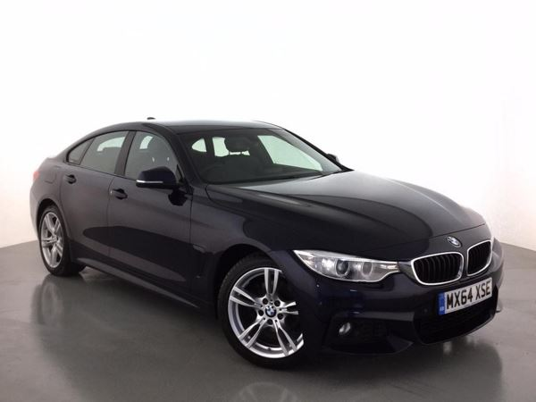 (2014) BMW 4 Series 420d M Sport 5dr £2705 Of Extras - Satellite Navigation - Luxurious Leather - Bluetooth Connectivity