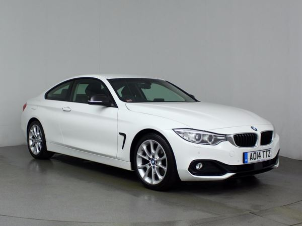 (2014) BMW 4 Series 420d Sport 2dr Auto Coupe £3005 Of Extras - Luxurious Leather - Bluetooth Connection - Parking Sensors