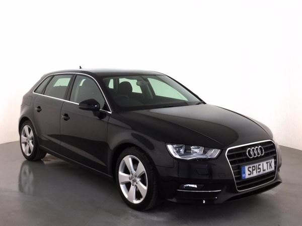 (2015) Audi A3 1.6 TDI Sport 5dr £1495 Of Extras - Satellite Navigation - Bluetooth Connection - Zero Tax