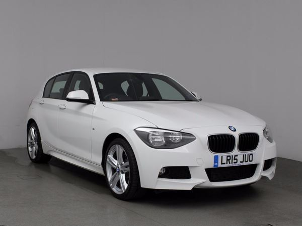 (2015) BMW 1 Series 120d M Sport 5dr Luxurious Leather - Bluetooth Connection - £30 Tax - DAB Radio - Aux MP3 Input