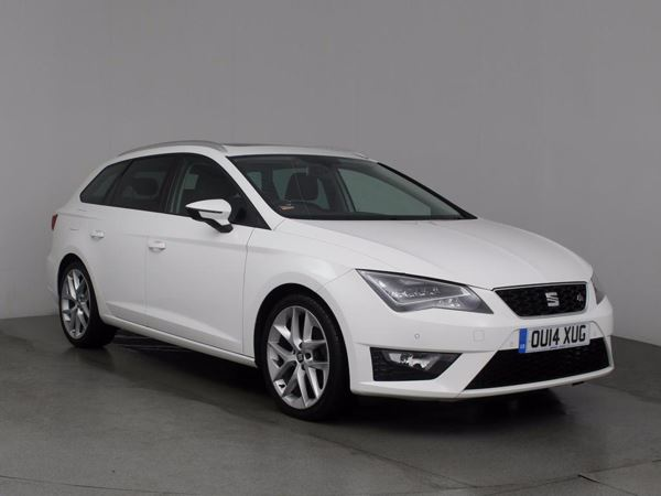 (2014) SEAT Leon 2.0 TDI 184 FR 5dr [Technology Pack] Estate £1625 Of Extras - Panoramic Roof - Satellite Navigation - Bluetooth Connection - £30 Tax