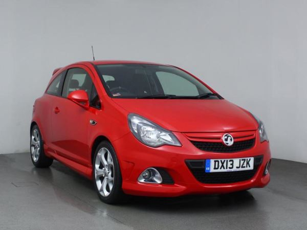 (2013) Vauxhall Corsa 1.6T VXR 3dr DAB Radio - Aux MP3 Input - Cruise Control - 6 Speed - Air Conditioning