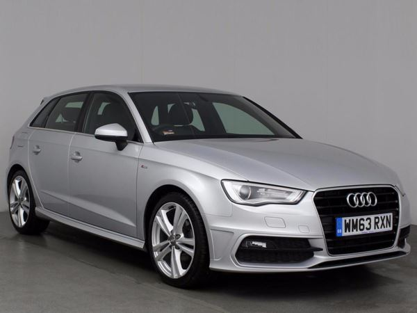 (2014) Audi A3 2.0 TDI S Line 5dr Luxurious Leather - Bluetooth Connection - £20 Tax - DAB Radio - Xenon Headlights