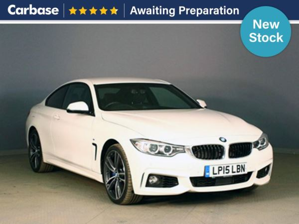(2015) BMW 4 Series 435d xDrive M Sport 2dr Auto £3990 Of Extras - Satellite Navigation - Luxurious Leather - Bluetooth Connection - Parking Sensors