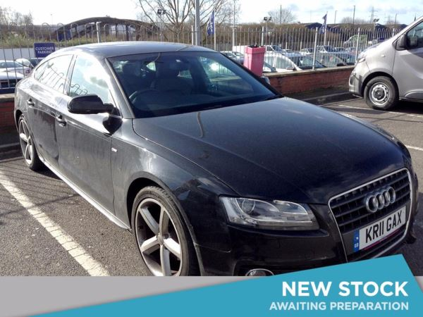 (2011) Audi A5 2.0 TDI S Line 5dr £2890 Of Extras - Satellite Navigation - Luxurious Leather - Parking Sensors