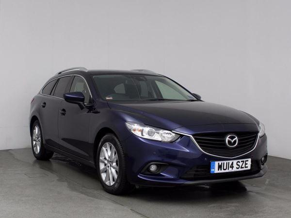 (2014) Mazda 6 2.2d SE-L 5dr Bluetooth Connection - £20 Tax - Parking Sensors - Aux MP3 Input - Rain Sensor