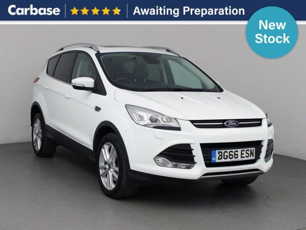 (2016) Ford Kuga 2.0 TDCi 180 Titanium X Sport 5dr - SUV 5 Seats Panoramic Roof - Satellite Navigation - Luxurious Leather - Bluetooth Connection - Parking Sensors