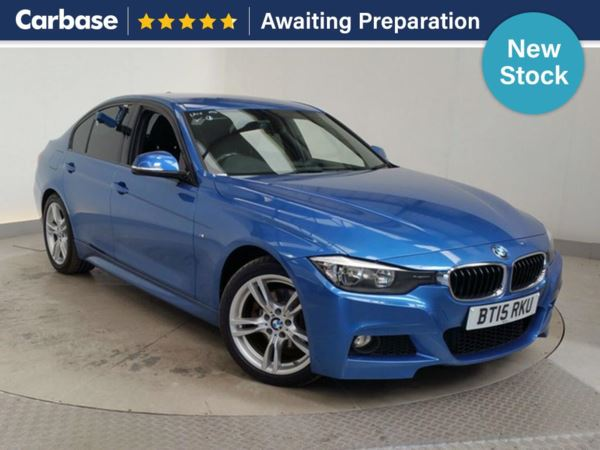 (2015) BMW 3 Series 320d M Sport 4dr Step Auto £2860 Of Extras - Satellite Navigation - Luxurious Leather - Bluetooth Connection - Parking Sensors