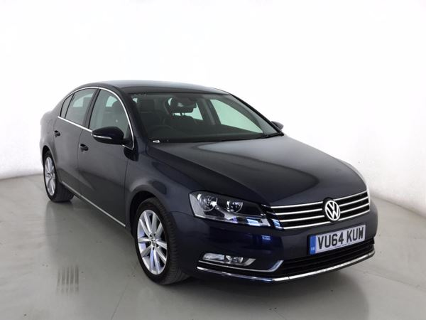 (2014) Volkswagen Passat 2.0 TDI Bluemotion Tech Executive 4dr Satellite Navigation - Bluetooth Connection - £30 Tax - Parking Sensors
