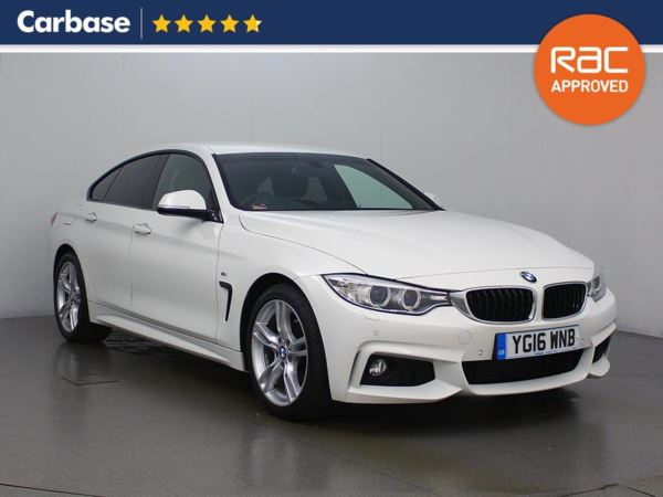 (2016) BMW 4 Series 420d [190] M Sport 5dr Auto [Professional Media] Satellite Navigation - Luxurious Leather - Bluetooth Connection - Parking Sensors