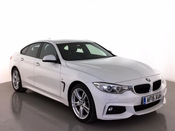 (2015) BMW 4 Series 420d M Sport 5dr Auto Gran Coupe Satellite Navigation - Luxurious Leather - Bluetooth Connection - Parking Sensors