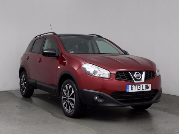 (2013) Nissan Qashqai 1.6 dCi 360 5dr [Start Stop] - SUV 5 Seats Panoramic Roof - Satellite Navigation - Bluetooth Connection - £30 Tax