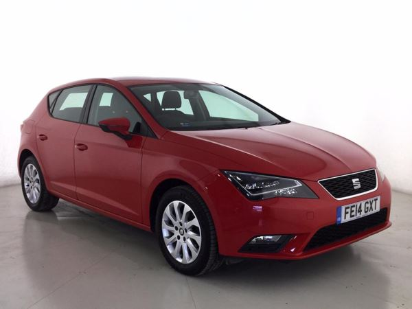 (2014) SEAT Leon 1.6 TDI SE 5dr [Technology Pack] £1075 Of Extras - Satellite Navigation - Bluetooth Connection - Zero Tax
