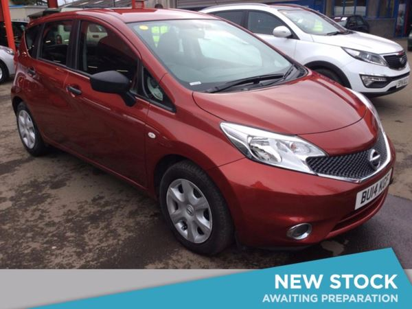 (2014) Nissan Note 1.5 dCi Visia 5dr - MPV 5 SEATS Bluetooth Connection - Zero Tax - USB Connection - Cruise Control