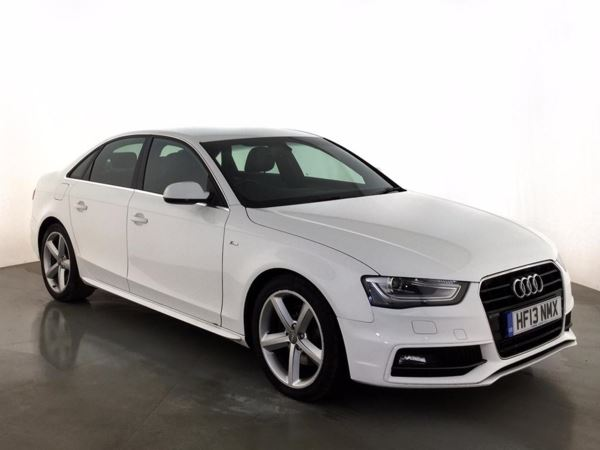 (2013) Audi A4 2.0 TDI 143 S Line 4dr Bluetooth Connection - £30 Tax - Parking Sensors - Aux MP3 Input - Xenon Headlights