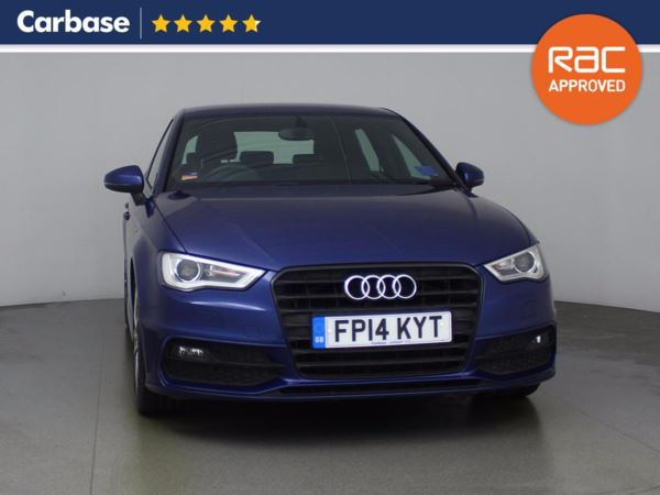 (2014) Audi A3 2.0 TDI S Line 5dr £1810 Of Extras - Satellite Navigation - Bluetooth Connection - £20 Tax