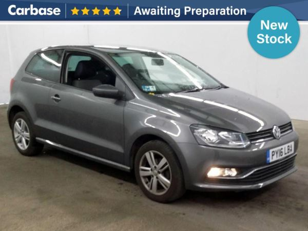 (2016) Volkswagen Polo 1.0 Match 3dr £545 Of Extras - Bluetooth Connection - Parking Sensors - DAB Radio - Cruise Control - 1 Owner