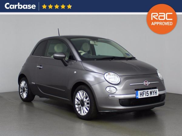 (2015) Fiat 500 0.9 TwinAir Lounge 3dr £620 Of Extras - Panoramic Roof - Bluetooth Connection - Zero Tax - Parking Sensors