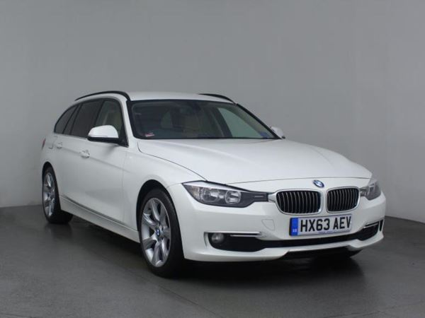 (2013) BMW 3 Series 320d Luxury 5dr Step Auto £2320 Of Extras - Luxurious Leather - Bluetooth Connection - Parking Sensor