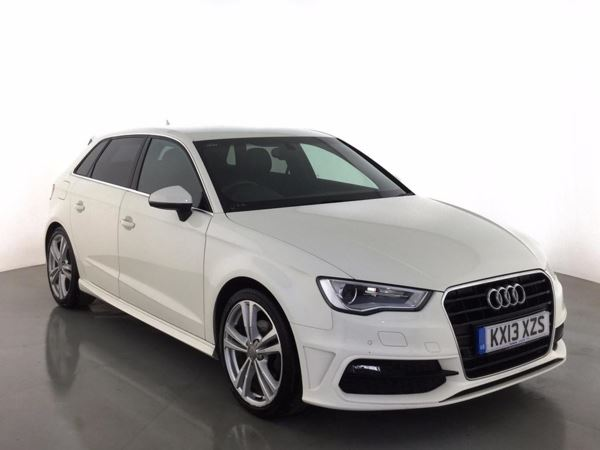 (2013) Audi A3 2.0 TDI S Line 5dr £2895 Of Extras - Satellite Navigation - Luxurious Leather - Bluetooth Connectivity