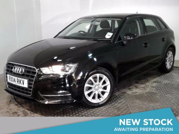 (2014) Audi A3 1.4 TFSI 140 SE 5dr Bluetooth Connection - £30 Tax - DAB Radio - 6 Speed - Air Conditioning