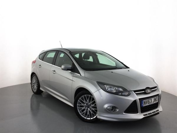 (2014) Ford Focus 1.6 TDCi 115 Zetec S 5dr £1050 Of Extras - Bluetooth Connection - £20 Tax - Parking Sensors - DAB Radio