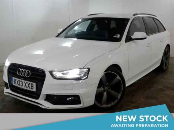 (2013) Audi A4 2.0 TDI 177 Black Edition 5dr Luxurious Leather - Bluetooth Connection - Parking Sensors - DAB Radio