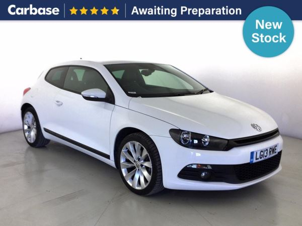 (2013) Volkswagen Scirocco 2.0 TDi BlueMotion Tech GT 3dr Coupe Satellite Navigation - Luxurious Leather - Bluetooth Connection - £30 Tax