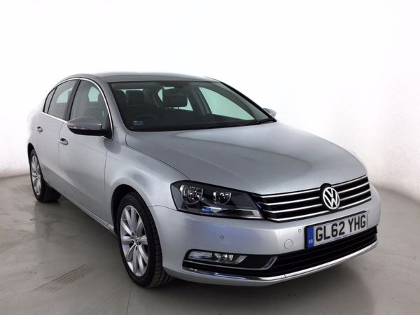 (2013) Volkswagen Passat 2.0 TDI Bluemotion Tech Highline 4dr DSG £2250 Of Extras - Satellite Navigation - Luxurious Leather - Bluetooth