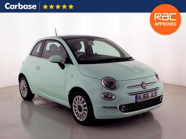 (2016) Fiat 500 1.2 Lounge 3dr Panoramic Roof - Satellite Navigation - Bluetooth Connection - £20 Tax - Parking Sensors - DAB Radio
