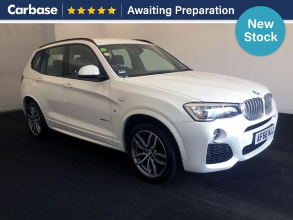 (2016) BMW X3 xDrive35d M Sport 5dr Step Auto Satellite Navigation - Luxurious Leather - Bluetooth Connection - Parking Sensors