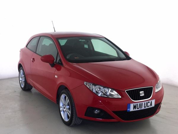 (2011) SEAT Ibiza 1.4 Chill 3dr Bluetooth Connection - Aux MP3 Input - USB Connection - Cruise Control