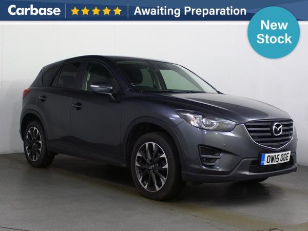 (2015) Mazda CX-5 2.2d [175] Sport Nav 5dr AWD Auto Satellite Navigation - Luxurious Leather - Bluetooth Connection - Parking Sensors - Aux MP3 Input