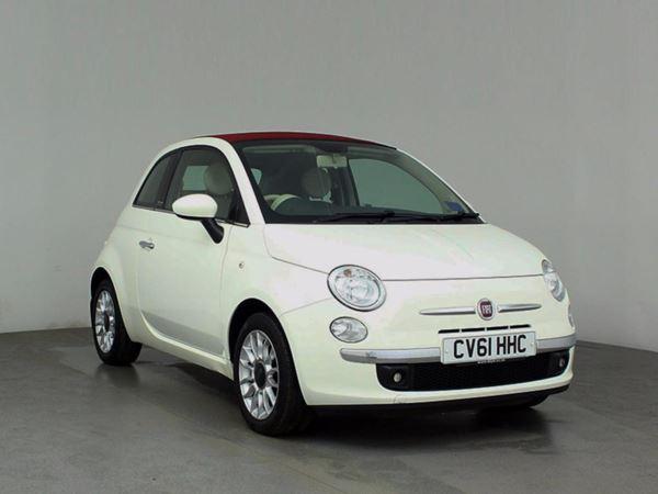 (2011) Fiat 500C 1.2 Lounge 2dr Bluetooth Connection - £30 Tax - Parking Sensors - Aux MP3 Input - USB