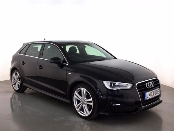 (2013) Audi A3 1.6 TDI S Line 5dr £5735 Of Extras - Satellite Navigation - Bluetooth Connection - Zero Tax