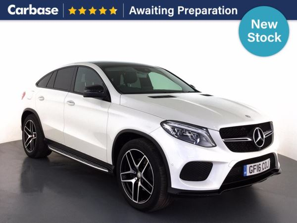 (2016) Mercedes-Benz GLE Coupe GLE 350d 4Matic AMG Line Premium Plus 5dr 9G-Tron Panoramic Roof - Satellite Navigation - Luxurious Leather - Park Pilot - 1 Owner