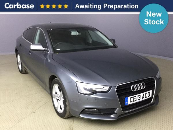 (2013) Audi A5 2.0 TDI 177 SE Technik 5dr Sportback £2835 Of Extras - Satellite Navigation - Luxurious Leather - Bluetooth Connection
