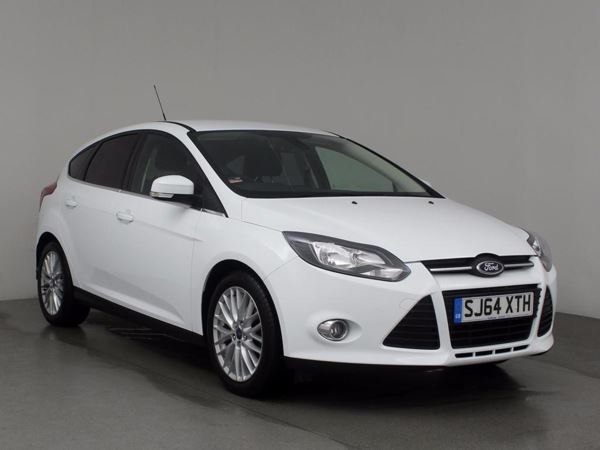 (2014) Ford Focus 1.6 125 Zetec 5dr Powershift Bluetooth Connection - Parking Sensors - DAB Radio - Aux MP3 Input