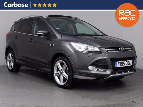 (2015) Ford Kuga 2.0 TDCi 150 Titanium X Sport 5dr 2WD - SUV 5 Seats Panoramic Roof - Satellite Navigation - Luxurious Leather - Bluetooth Connection
