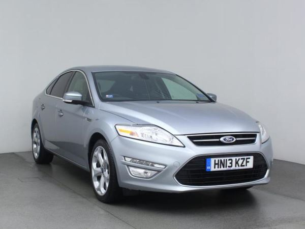 (2013) Ford Mondeo 2.0 TDCi 140 Titanium 5dr Powershift Bluetooth - 1 Owner - DAB - USB - Rain Sensor - Cruise Control - Isofix - 6 Speed - Climate Control - Alloys